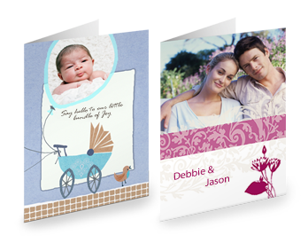 PRODUCT DETAILS: XL GREETING CARDS, SHORT FOLD (Set of 10)