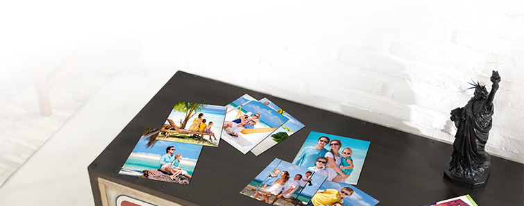 Digital photos on photo paper