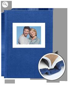 Cover: Linen - blue