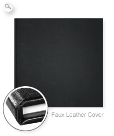 Cover: Black Faux Leather