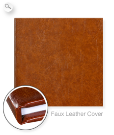 Cover: Brown Faux Leather