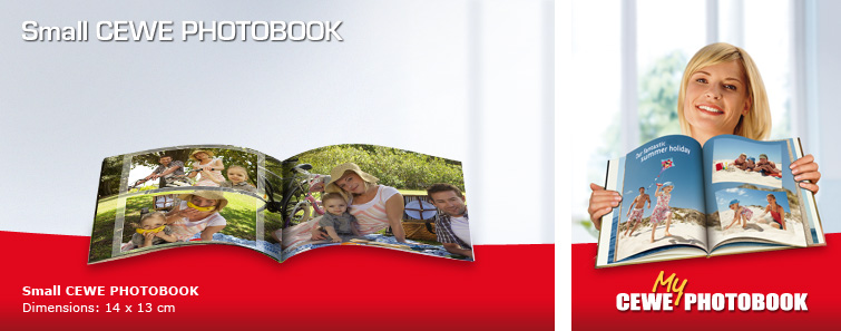 Small CEWE PHOTOBOOK with Garden Image