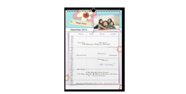A3 Family Calendar