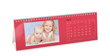 Standing Desktop Calendar