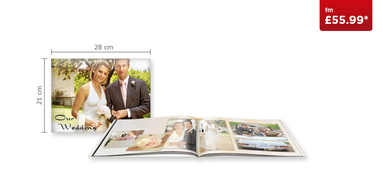 Large Landscape CEWE PHOTOBOOK with Glossy Paper