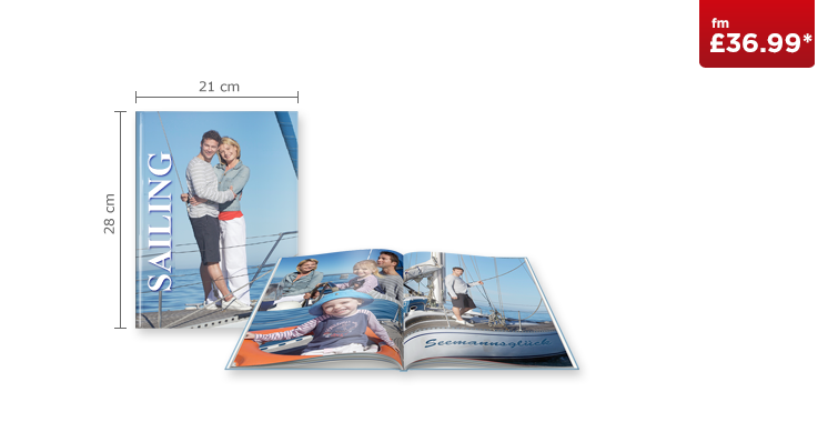 Large Portrait CEWE PHOTOBOOK with True Matte Paper