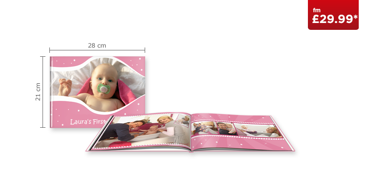 Large Landscape CEWE PHOTOBOOK with Standard Paper