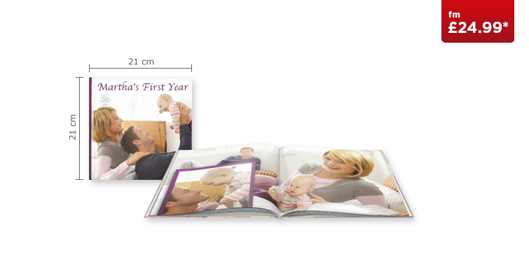 Square CEWE PHOTOBOOK with Standard Paper