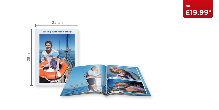 Large Portrait CEWE PHOTOBOOK with Softcover