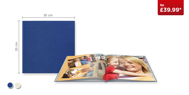 XL CEWE PHOTOBOOK with Premium Linen cover