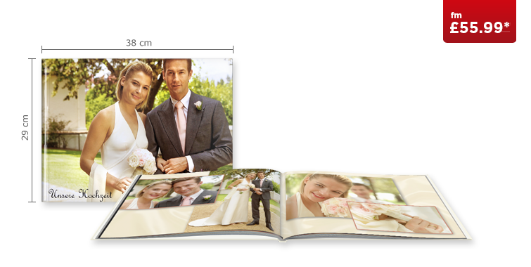 XXL Landscape CEWE PHOTOBOOK with Standard Paper