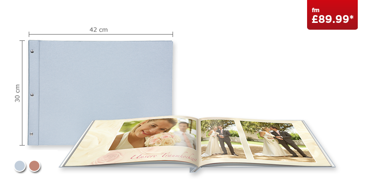 XXL Landscape CEWE PHOTOBOOK with Premium Linen cover