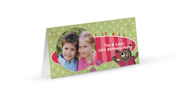 XL Greeting Cards Long Fold