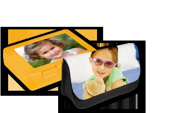 Sandwich Box and Pencil Case