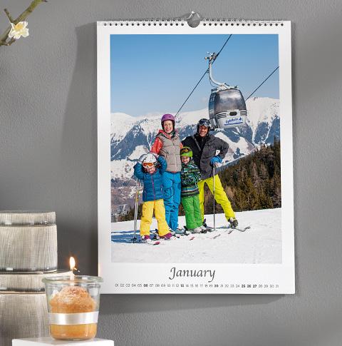 8 x 11 Portrait Calendar