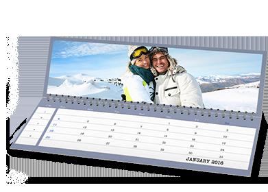 12 x 4 Agenda Calendar