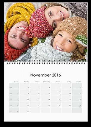 11 x 8 Classic Wall Calendar