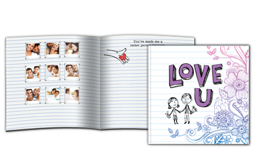 Love U Notebook (8x8)