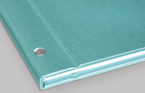 Screw Post Binding - Leather and Linen Covers