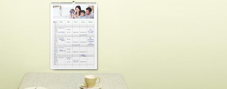 12 x 16 Family Calendar