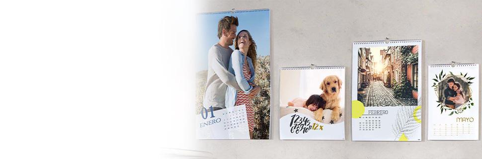 Calendario pared