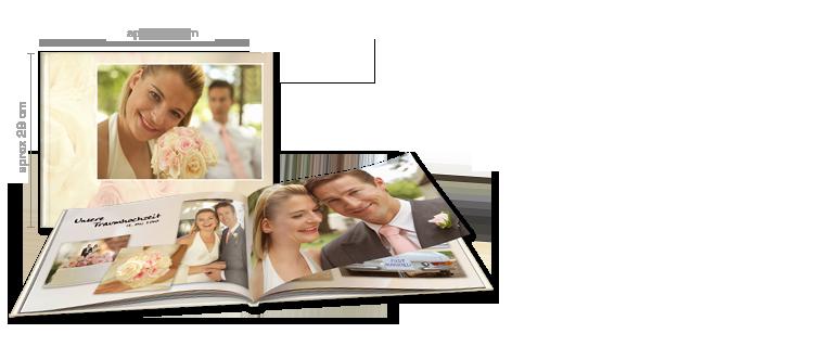 Libro de fotos cewe xxl apaisado