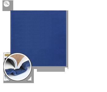 Encuadernación: Tela de primera calidad azul