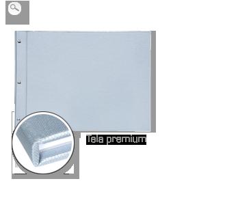 Encuadernación: Tela de primera calidad plateada