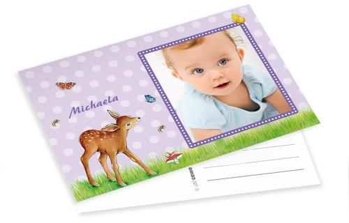 Información sobre las postales