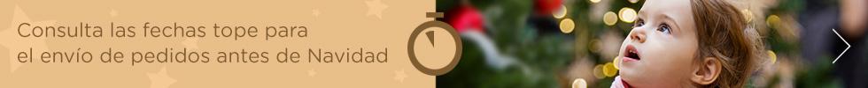 Consulta las fechas tope para el envío de pedidos antes de Navidad