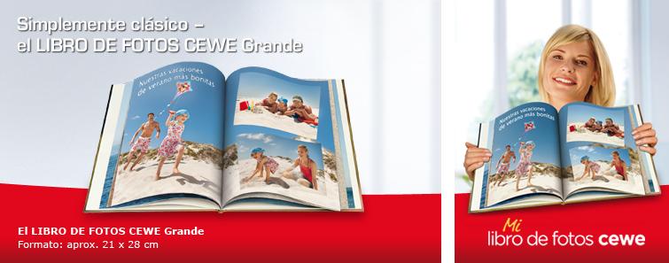 LIBRO DE FOTOS CEWE Grande vertical con imagen de playa