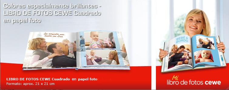 LIBRO DE FOTOS CEWE en papel foto