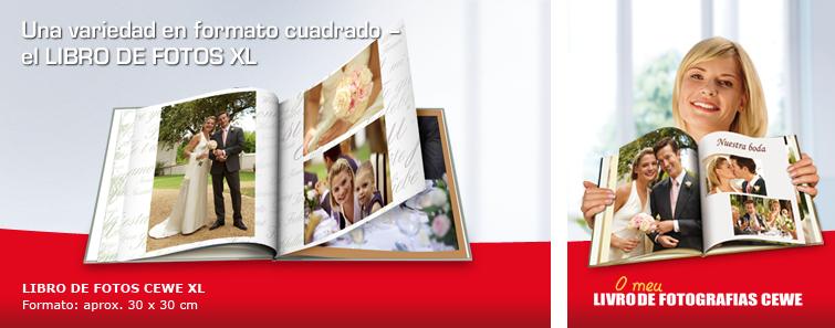 LIBRO DE FOTOS CEWE Grande XL con imagen de boda