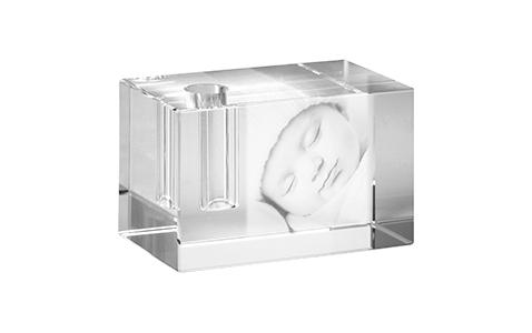Portalápiz cristal