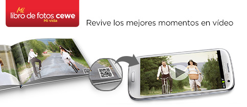 Videos en el LIBRO DE FOTOS CEWE