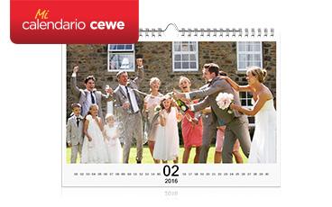 Calendarios en papeles diferentes
