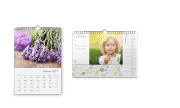 Calendario de pared A4 mate