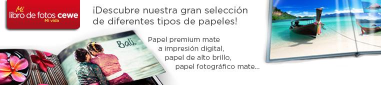 Descubre nuestros tipos de papel!