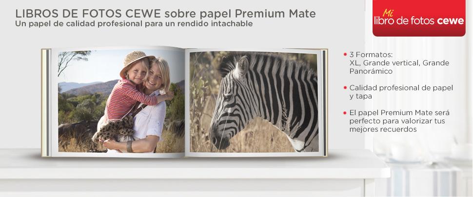 LIBRO DE FOTOS CEWE en papel premium mate