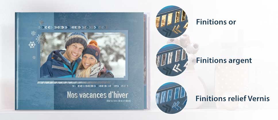 NOUVEAU : une finition raffinée pour la couverture de votre LIVRE PHOTO CEWE