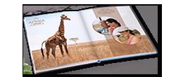 Exemples de livre photo sur le thème du voyage
