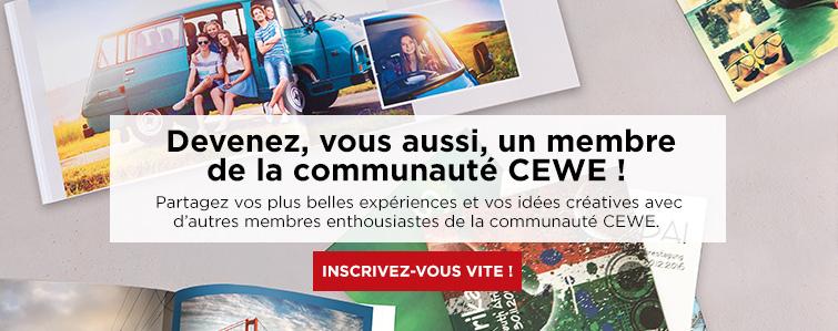 Devenez, vous aussi, un membre de la communauté CEWE !