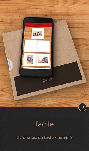 L'App CEWE Pure -  facile