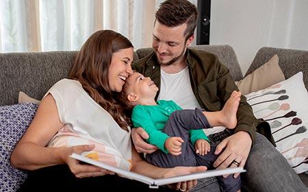 Découvrez l'histoire de nos clients, la famille Breu, racontée dans leur LIVRE PHOTO CE