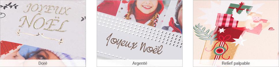 Embellissez vos cartes avec des décorations de Noël et des finitions spéciales