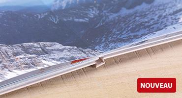 NOUVELLE QUALITÉ DU PAPIER : Papier Mat Premium avec ouverture à plat