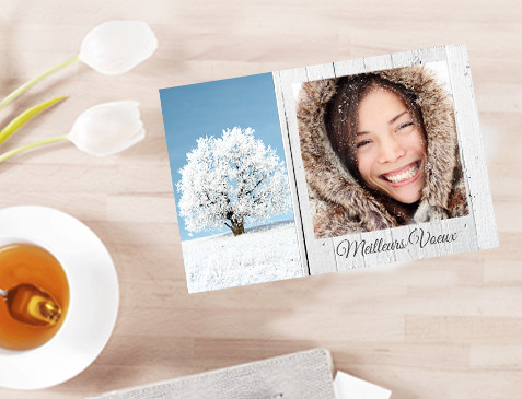 Carte de vœux immédiate