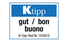 K-Tipp Praxistest 2013