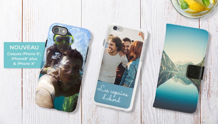 Découvrez nos coques iPhone 8®, iPhone 8® plus & iPhone X®