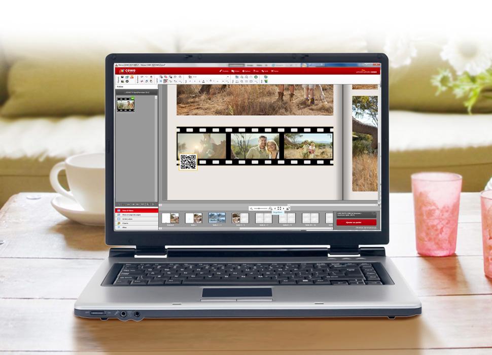3. QR Code généré automatiquement pour visionner la vidéo